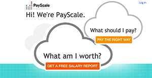 Logo of PayScale