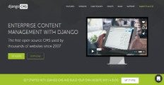 django CMS screenshot