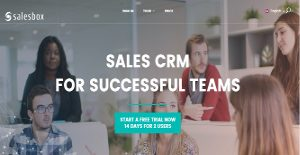 Salesbox CRM screenshot