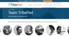 TribePad screenshot