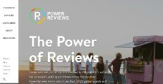 Logo of PowerReviews