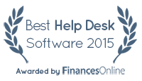 Freshdesk won our Best Help Desk Software Award for 2015