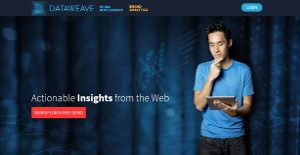 DataWeave Brand Analytics screenshot