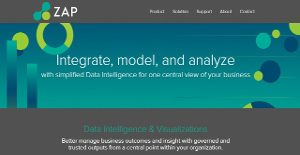 Logo of ZAP Business Intelligence
