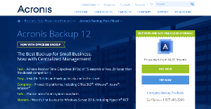 Logo of Acronis Backup and Recovery
