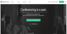 UberConference screenshot