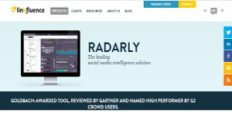 Radarly screenshot
