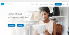 Salesforce Commerce Cloud screenshot