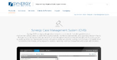 Logo of Synergy Case Management System