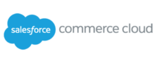 Logo of Salesforce Commerce Cloud