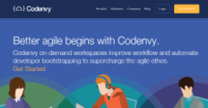 Logo of Codenvy