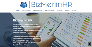 Logo of BizMerlin