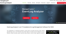 Logo of EventLog Analyzer