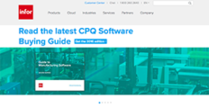 Infor CPQ screenshot