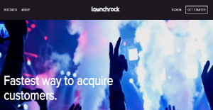 Launchrock screenshot