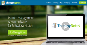 Logo of TherapyNotes