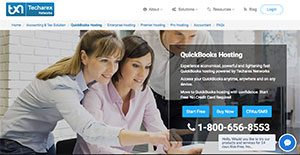 Logo of QuickBooks Hosting