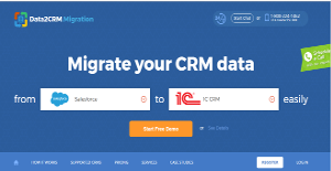 Logo of Data2CRM Migration