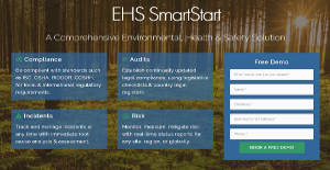 EHS SmartStart screenshot