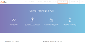 Logo of HaltDos DDoS