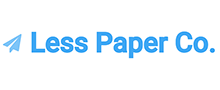 Less Paper Co. logo