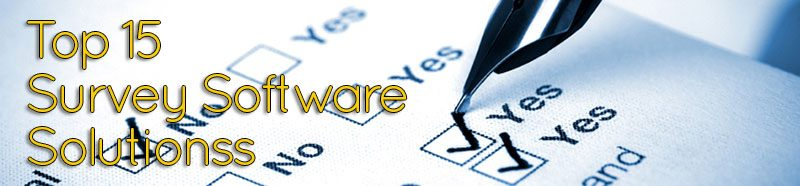 Top 15 survey software solutions