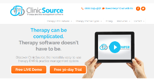 Logo of ClinicSource