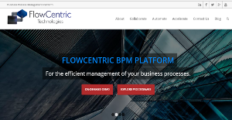 FlowCentric BPM screenshot