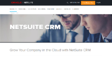 Logo of NetSuite CRM