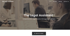 The Legal Assistant screenshot