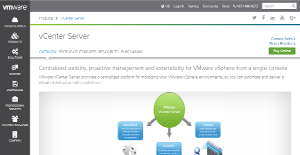 Logo of VMWare vCenter Server