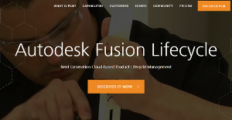 Logo of Autodesk Fusion Lifecycle