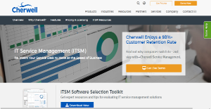 Cherwell IT Service Management screenshot