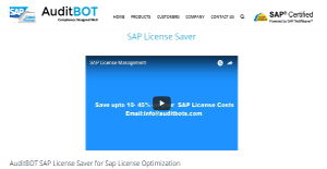 Logo of AuditBOT SAP License Saver