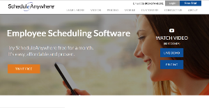 Logo of ScheduleAnywhere
