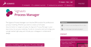 Logo of Signavio Process Manager