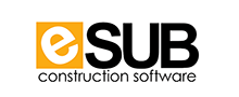 Logo of eSub Construction Project Management