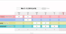 BeeBole Timesheet dashboard 13