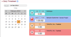 BeeBole Timesheet dashboard 12