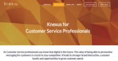Logo of Knexus Customer Services