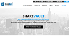 Logo of ShareVault
