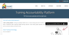 Training Accountability Platform screenshot