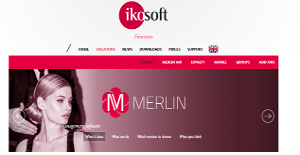 Logo of Merlin Salon Management