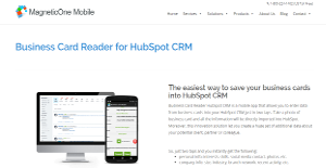 Business card reader for hubspot crm reviews overview pricing logo of business card reader for hubspot crm reheart Choice Image
