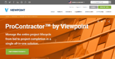 Viewpoint ProContractor screenshot