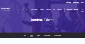 Logo of SumTotal Talent