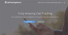 Logo of CallTrackingMetrics