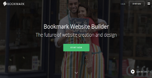 Logo of Bookmark Website Builder