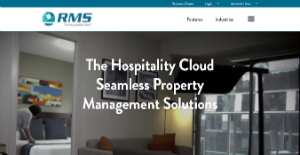 Logo of RMS Hospitality Cloud
