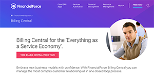 Logo of FinancialForce Billing Central